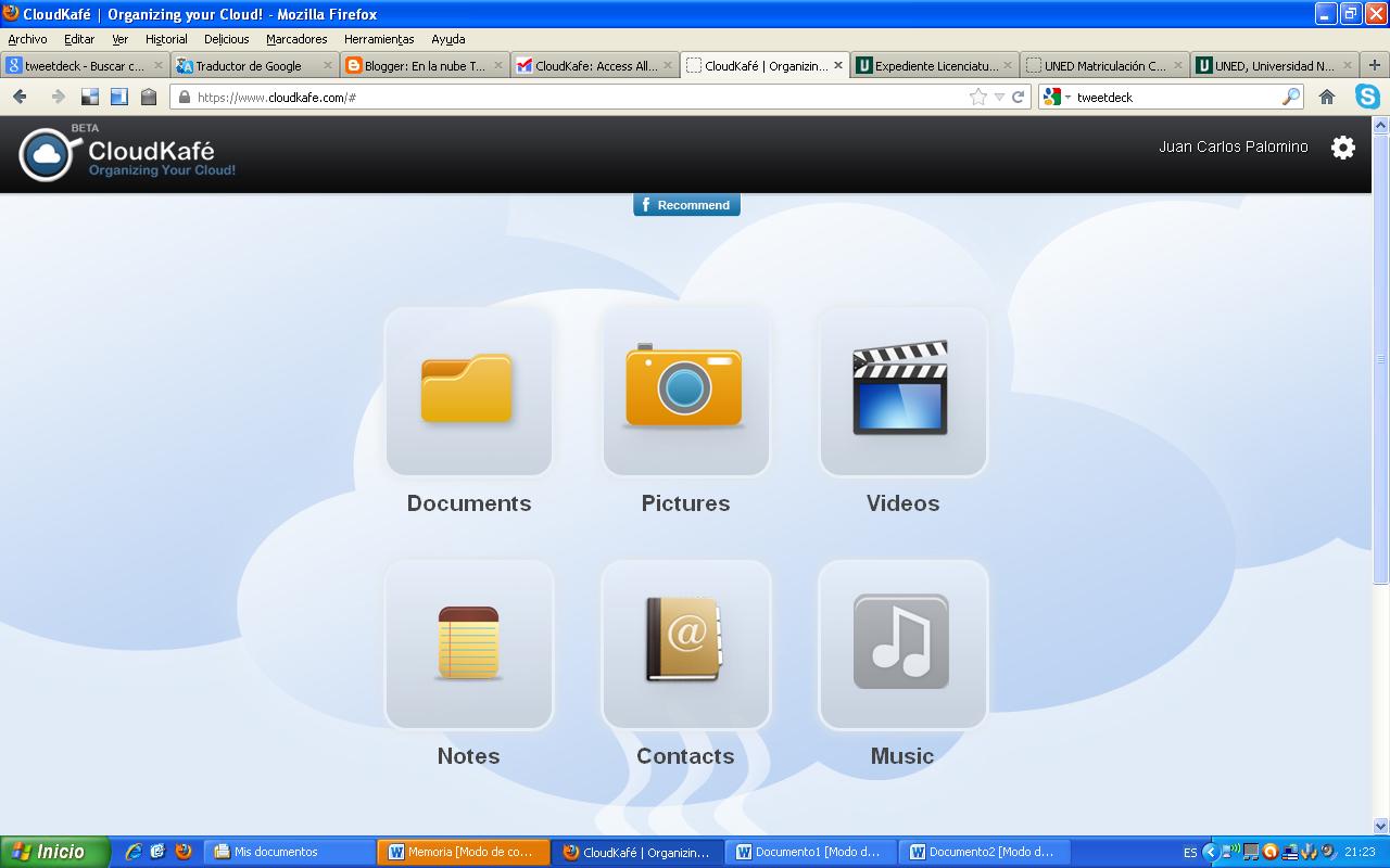 CloudKaf%C3%A91 CloudKafé: Administra tu contenido en la nube desde un mismo lugar