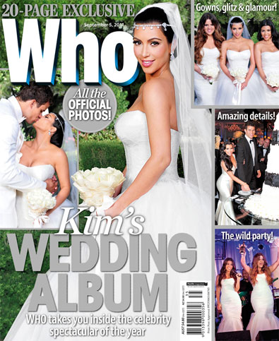 Kim Kardashian Wedding Photos