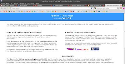 Imagen de ejemplo del servidor apache en CentOS 6.2