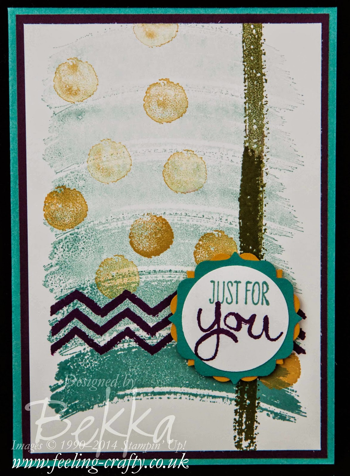 Fast and Fun Card for Any Occasion - check out the Video tutorial