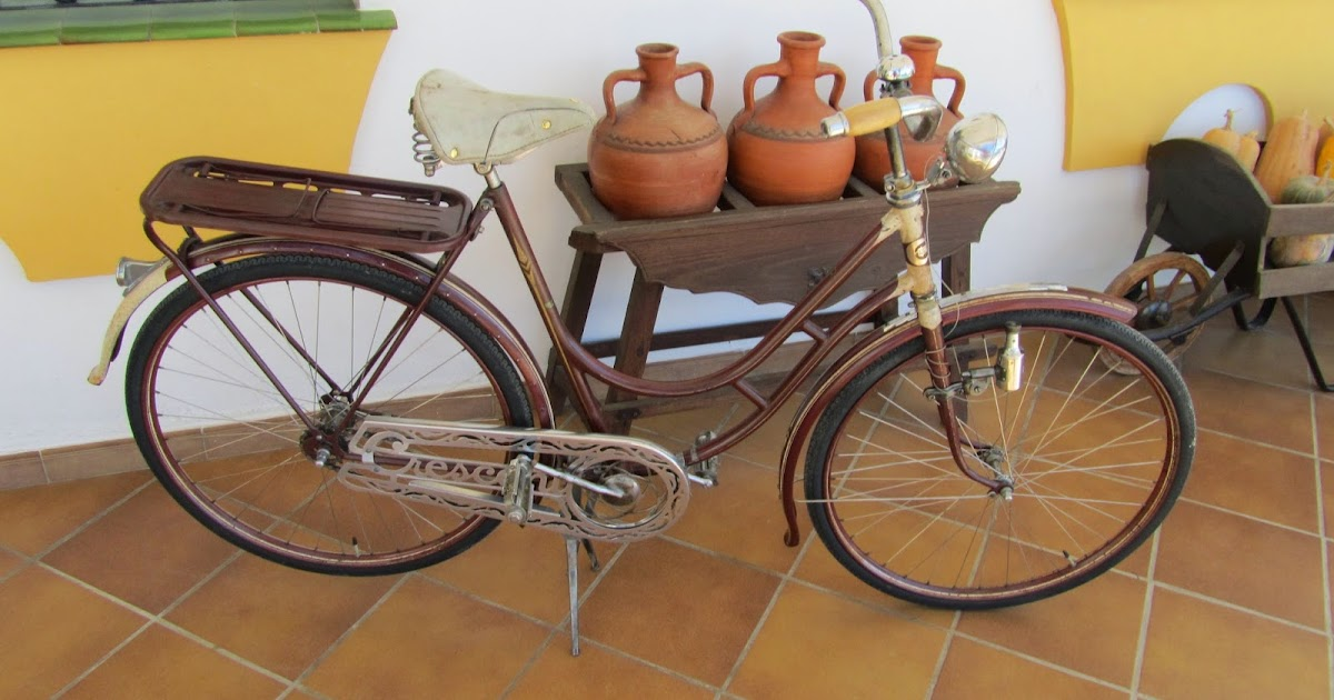 Bicicleta restaurada crescent rik rides restauracion for Bicicletas antiguas nuevas