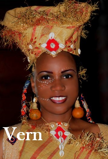 Mireille Nzoubou-Mpiga Styliste: Vern: un mariage particulier