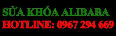 Sửa Khóa - Làm Chìa Khóa Alibaba -0967.294.669
