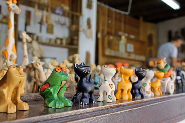 Buy canvas print of Handmade Toys