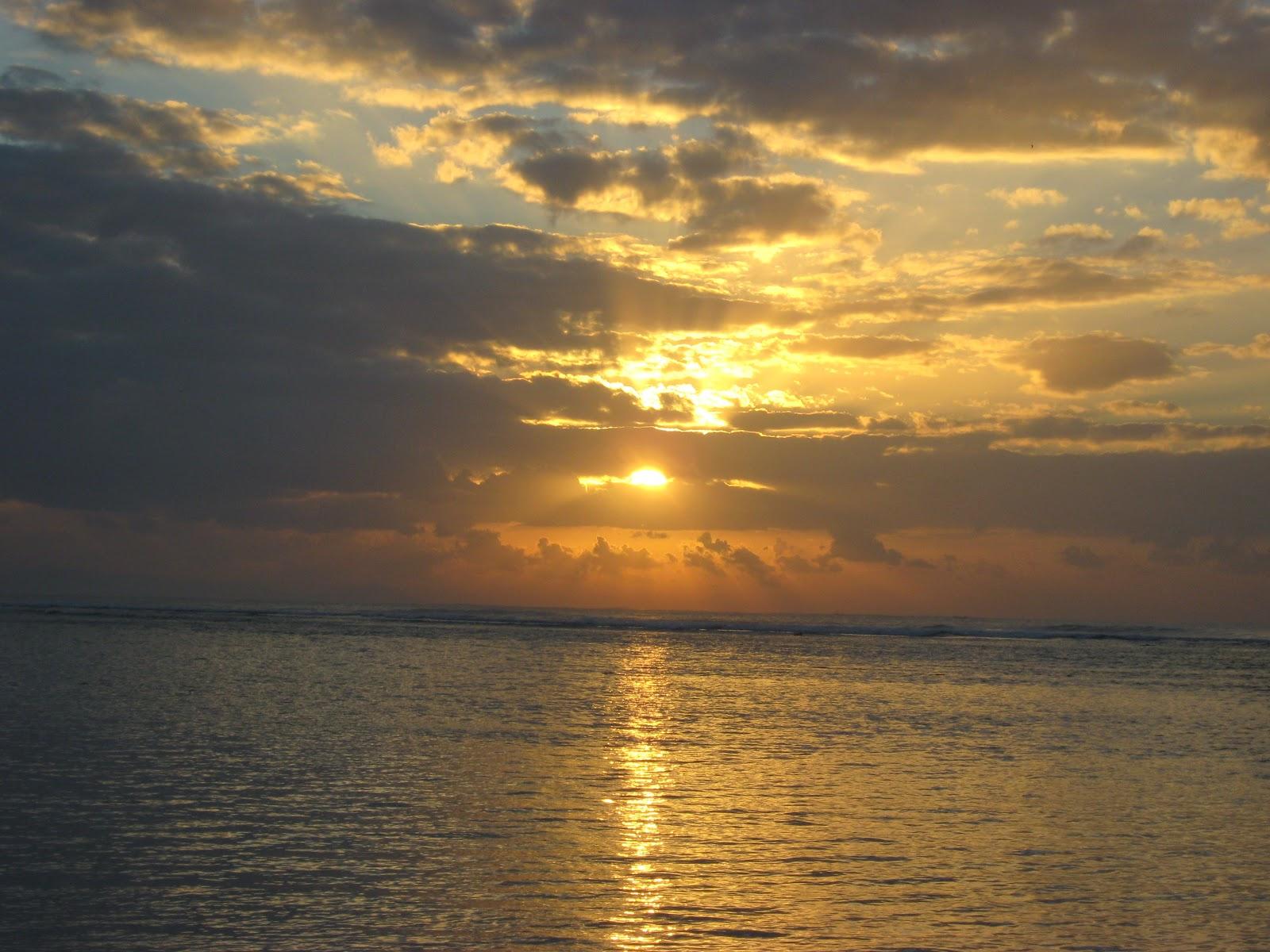 Bali Attractions Sindu Beach Morning View