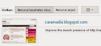 url yang akan disubmit ke webmasters tools