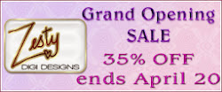 Grand Opening Sale: Zesty Digi Designs