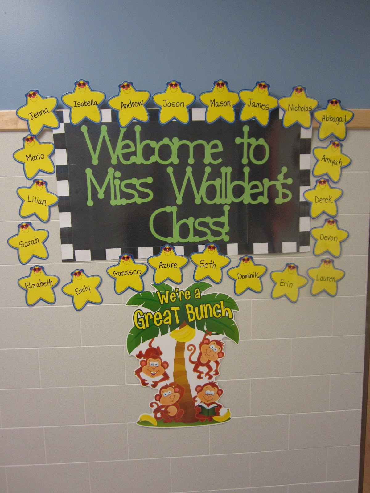Classroom Welcome Design ~ The creative chalkboard classroom tour pictures galore