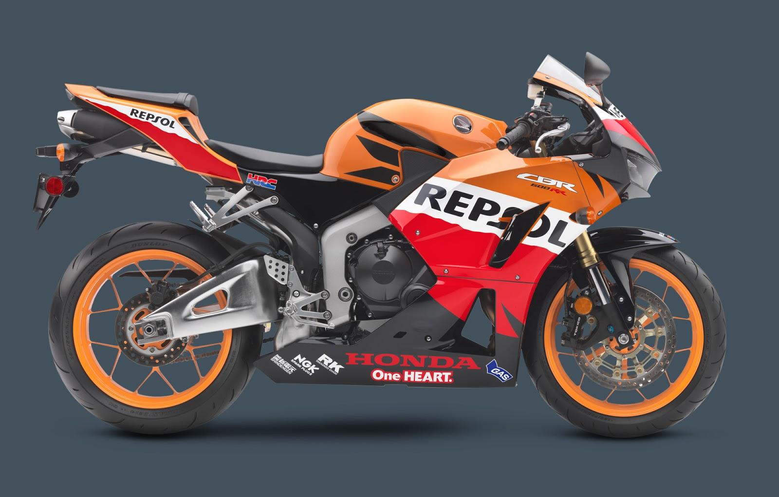 Honda CBR600RR Repsol Edition keluaran 2013