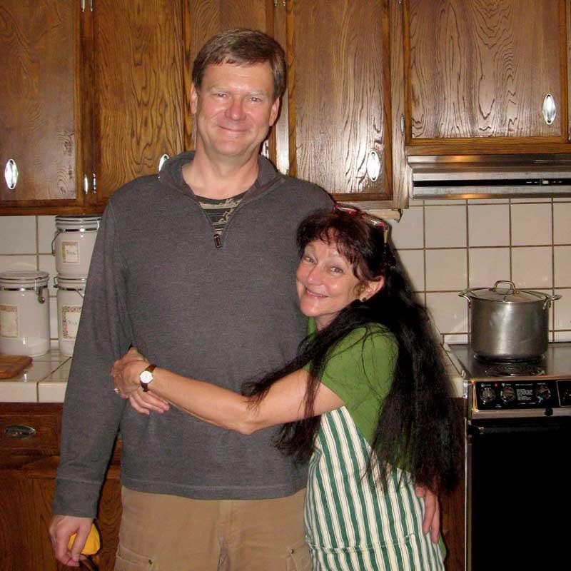 Mike Boom and Lynn Morton