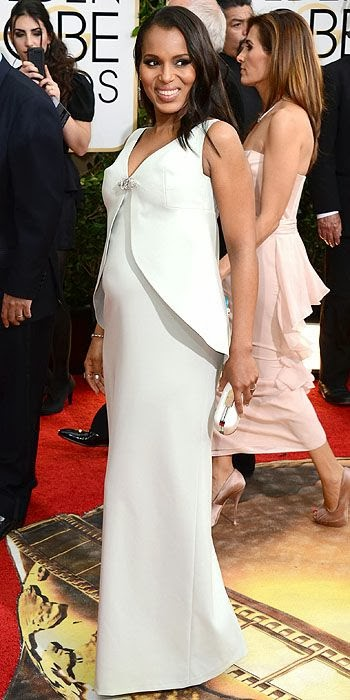 Kerry Washington, Golden Globes, fashion, red carpet, awards show