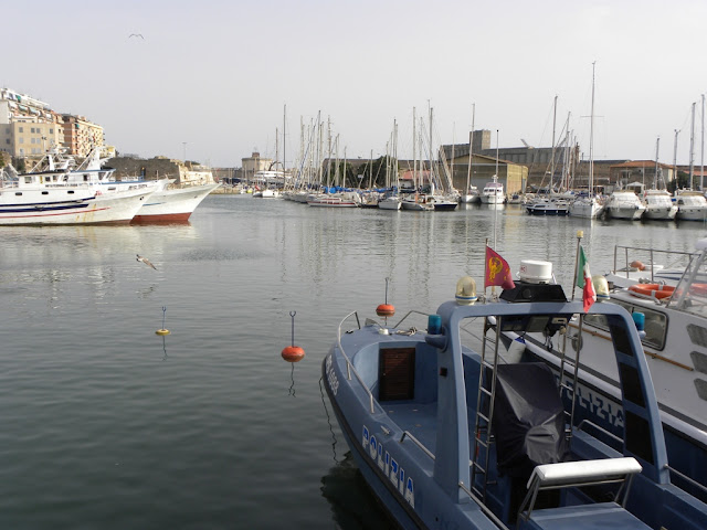 Civitavecchia fishers harbour