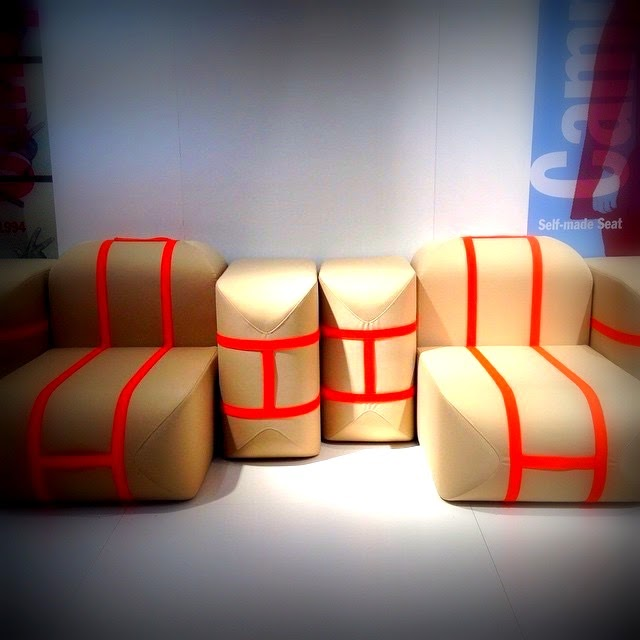 NEWS from SALONE DEL MOBILE - MILANO 2015: SELF-MADE SEAT, design ...