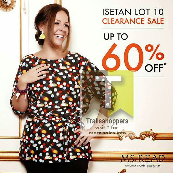Ms Read Isetan KLCC Clearance Sale