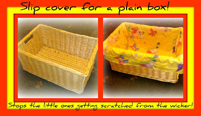 fabric liners boxes