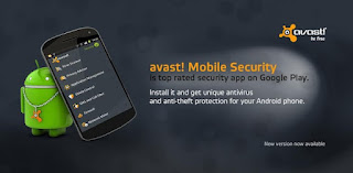 Download Avast Mobile Security versi 4.0.7891