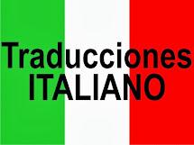Traduce  ao ITALIANO!!!