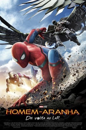 Homem-Aranha - De Volta Ao Lar BluRay Filmes Torrent Download capa