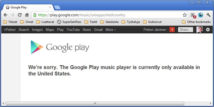 google kauppa ei toimi Lappeenranta