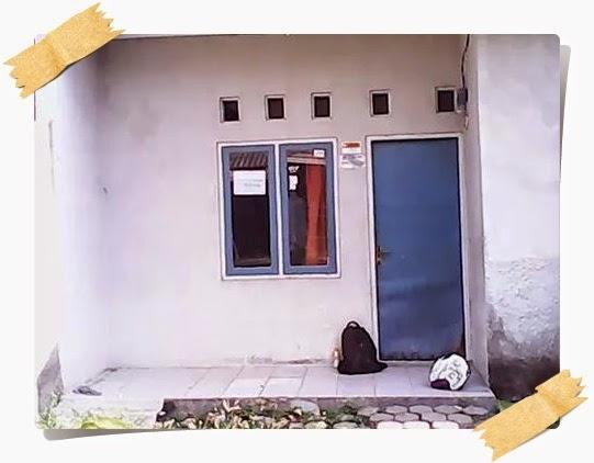 Rumah yang saya sewakan di Terusan, Sindang