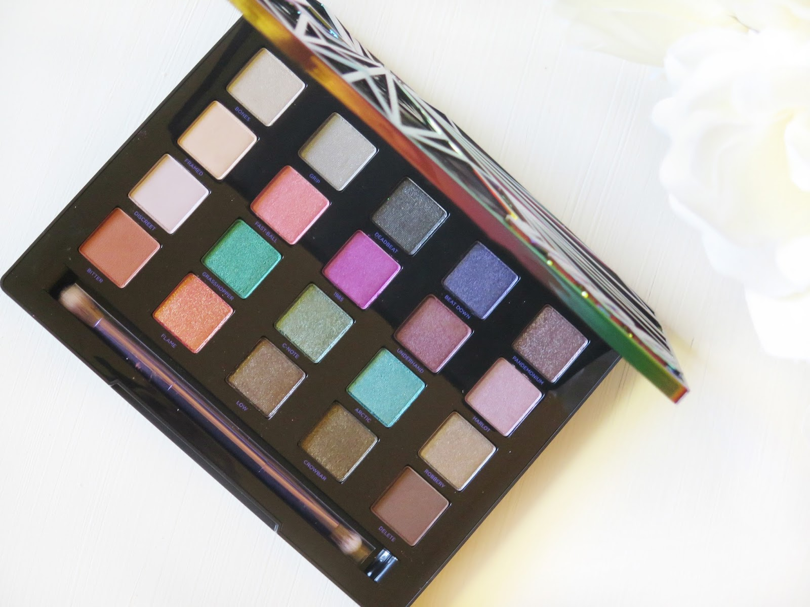 Urban Decay Vice 4 Eyeshadow Palette | Review & Swatches | Bold Unhinged Colour in An Array Of Finishes | labellesirene.ca