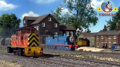 Edward the tank engine is getting old not as strong as diesel Salty and other Sodor steam engines