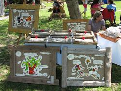 2012 - ART6 design és vásár - varnyú stand