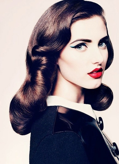 want to spice up your updo try the vintage inspired finger waves ...