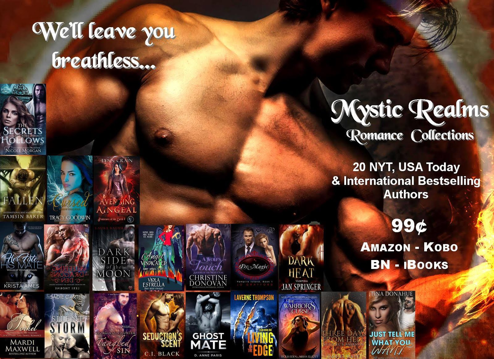 Mystic Realms BookBub Giveaway