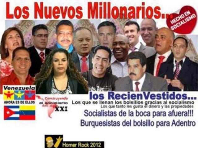 Resultado de imagen para CHAVEZ MILLONARIO