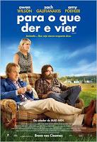 """Poster do filme """"Para o que Der e Vier"""""""