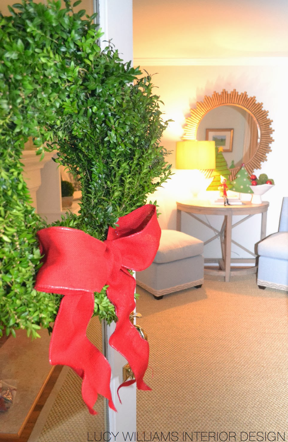 Lucy williams interior design blog christmas decor at for Home goods christmas decorations 2013