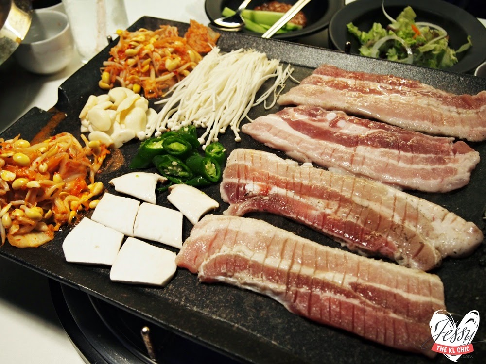 FOOD: Palsaik Samgyupsal Korean BBQ - The Scott Garden