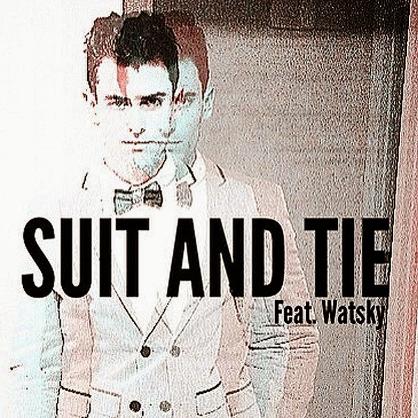 Mike Tompkins - Suit & Tie (feat. Watsky) - Single Cover