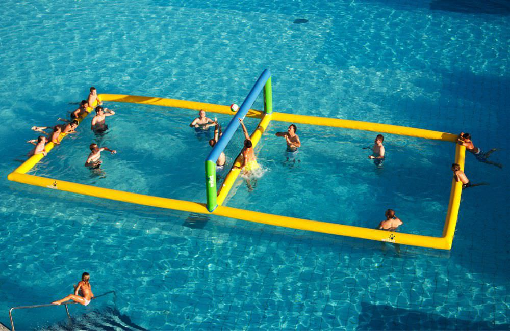 Natacion - Red voley piscina ...
