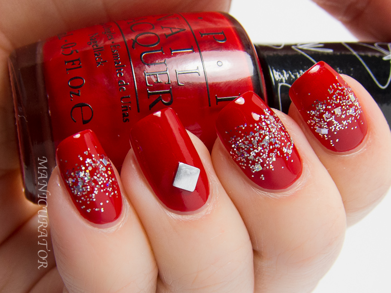 OPI_Gwen_Stefani_Collection_Over_&_Over_A-Gwen_and_In_True_Stefani_Fashion_Glitter_Gradient_Nail_Art