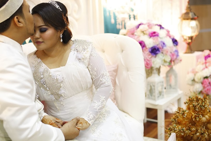 WEDDING DRESS FOR SALE @ BAJU KAHWIN DESIGNER PLUS SIZE UNTUK DIJUAL ...