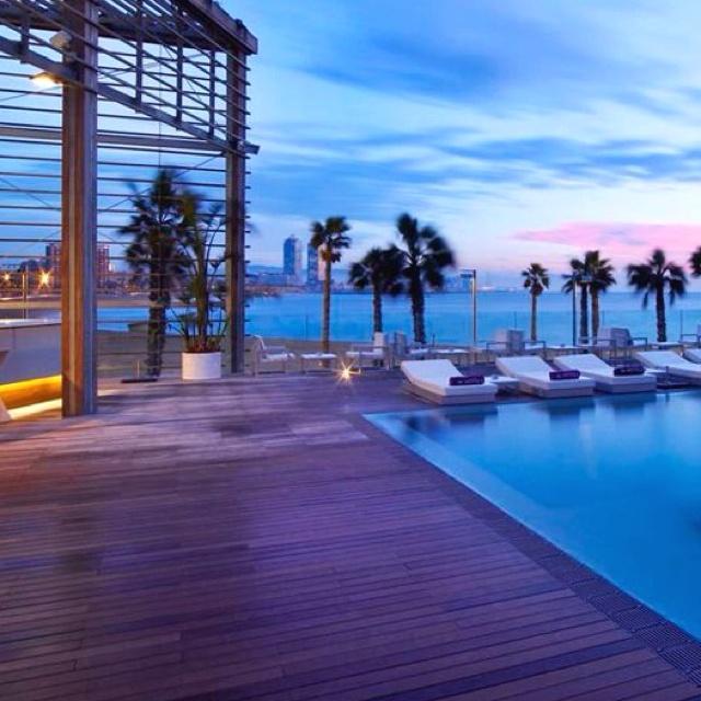 W barcelona hotel spain luxury lifestyle design for Spa hotel w barcelona