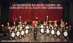 23.12.16 CONCIERTO DE NAVI- DAD DE LA BANDA LA MANISEN SE BIG BAND EN EL AUDITORIO