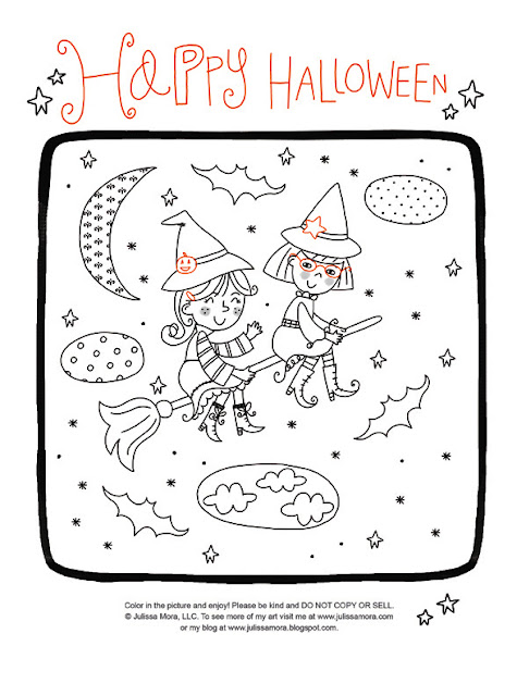 you can check out these fun kid friendly halloween printables and the rest of the fun halloween illustrations over at we love to illustrate - Fun Halloween Printables