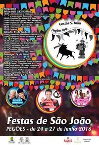 Pegões(Montijo)- Festas São João 2016- 24 a 27 Junho
