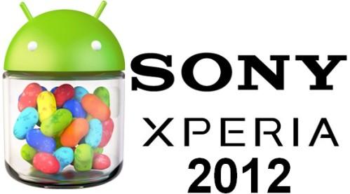 Terminato il ciclo vitale degli aggiornamenti android per gli smartphone della serie Xperia 2012 di Sony