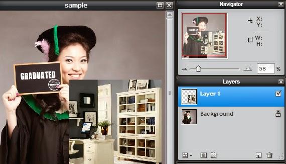 Cara edit Background Foto