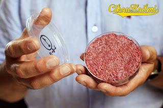 Sanggup Makan Daging Burger Yang Dihasilkan di Makmal?