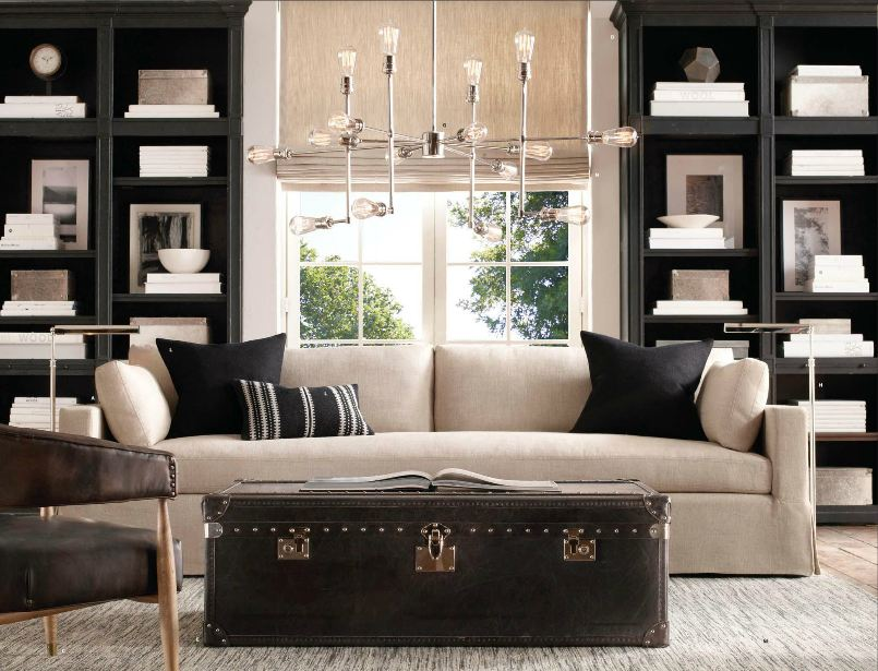 tg interiors bookcases in the living room