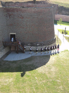 Bastion St. Eugene- defensive moat exit
