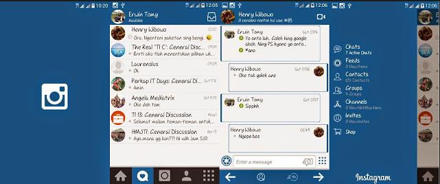 BBM Mod Instagram Terbaru V2.9.0.51