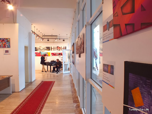 Alkan Çuhadar Art Exhibit, Fethiye Culture Centre
