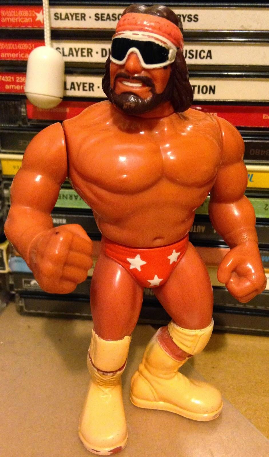 WWF / WWE - Hasbro Wrestling Figures - Macho King Randy Savage