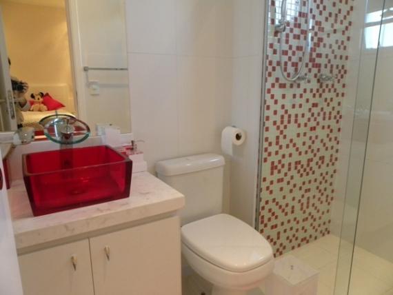 Amando, Casando e Decorando {Decorando} Banheiros cheios de graça! -> Banheiro Clean Com Pastilha